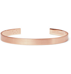 Le Gramme Le 21 Brushed 18-Karat Rose Gold Cuff