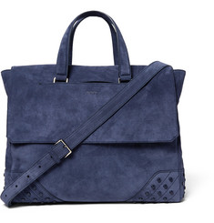 Tod's Gommino Suede Holdall