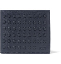 Tod's Gommini Studded Leather Billfold Wallet