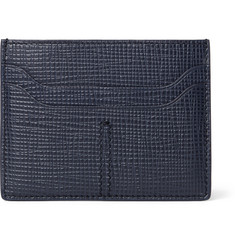 Tod's Cross-Grain Leather Cardholder