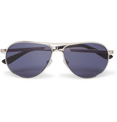 Tom Ford Marko Aviator-Style Metal Polarised Sunglasses