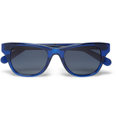 Cutler and Gross D-Frame Acetate Polarised Sunglasses