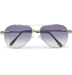 Cutler and Gross - Aviator-Style Metal Sunglasses