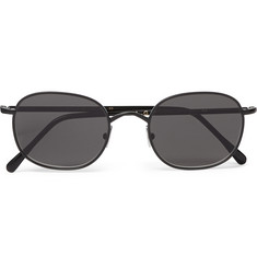 L.G.R Square-Frame Metal Sunglasses
