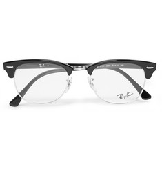 Ray-Ban - Clubmaster Acetate and Metal Optical Glasses