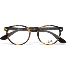 Ray-Ban - Round-Frame Tortoiseshell Acetate Optical Glasses