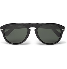 Persol Aviator-Style Acetate Sunglasses