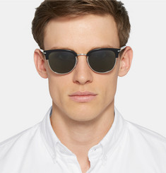 Persol - D-Frame Acetate and Metal Sunglasses