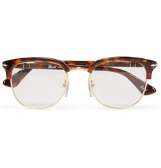 Persol - Round-Frame Tortoiseshell Acetate Optical Glasses