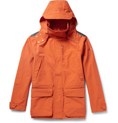 The Workers Club - Hooded Cotton-Canvas Jacket