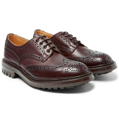 Tricker's - Bourton Leather Wingtip Brogues