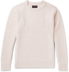 Beams Plus Ribbed Wool-Blend Sweater