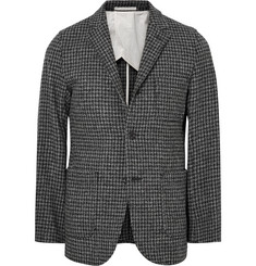 Beams Plus Slim-Fit Houndstooth Harris Wool-Tweed Blazer