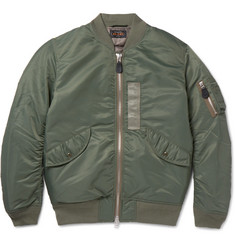 Beams Plus Shell Down Bomber Jacket
