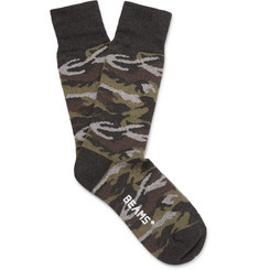 Beams Plus Camouflage Knitted Socks