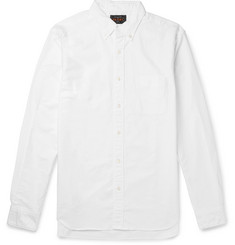 Beams Plus Slim-Fit Button-Down Collar Cotton Oxford Shirt