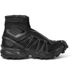 Salomon S/LAB Black Snowcross Trail Running Boots