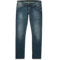 Nudie Jeans Long John Skinny-Fit Stretch-Denim Jeans