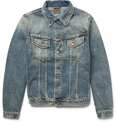 Nudie Jeans Billy Washed Organic Denim Jacket