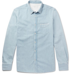 Officine Generale Lipp Slim-Fit Selvedge Denim Shirt