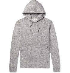 Officine Generale - Mélange Loopback Cotton-Jersey Hoodie