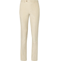 Officine Generale Beige Paul Cotton-Corduroy Trousers