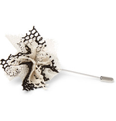 Marwood - Cotton-Lace Lapel Pin