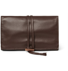 Cedes Milano Leather Jewellery Roll