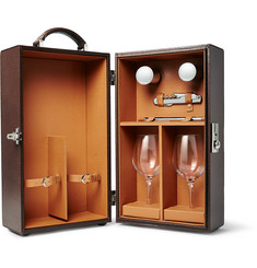 Cedes Milano - Leather Travelling Wine Box