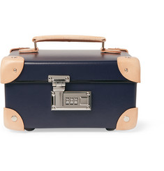 "Kingsman - + Globe-Trotter 9"" Pinstripe-Lined Accessories Case"