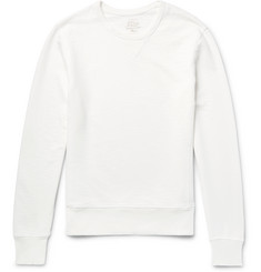 J.Crew - Garment-Dyed Loopback Cotton-Jersey Sweatshirt