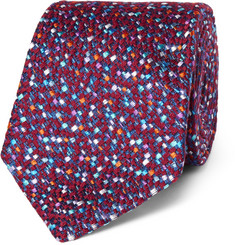 Turnbull & Asser 8cm Woven Wool and Silk-Blend Tie