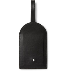 Montblanc Grained-Leather Luggage Tag