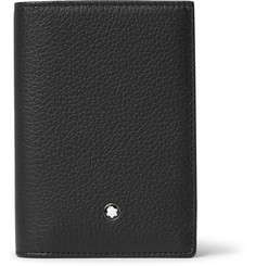 Montblanc Meisterstück Full-Grain Leather Trifold Cardholder