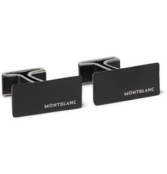 Montblanc PVD-Coated Stainless Steel Cufflinks