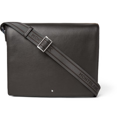 Montblanc Meisterstück Full-Grain Leather Messenger Bag