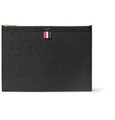 Thom Browne - Pebble-Grain Leather Pouch