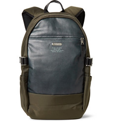 Master-Piece - Spec Leather-Panelled Ballistic CORDURA® Backpack