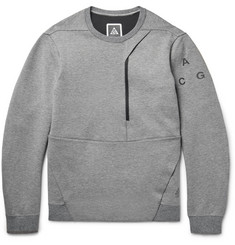 Nike ACG Cotton-Blend Tech Fleece Sweatshirt