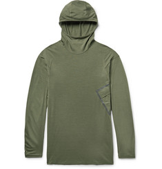 Nike NikeLab ACG Inversion Wool-Blend Dri-FIT Hooded Top