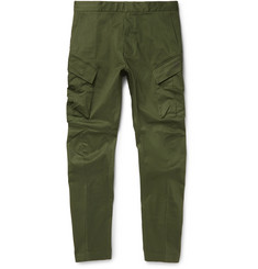 Nike - NikeLab ACG Tapered Stretch-Cotton Cargo Trousers
