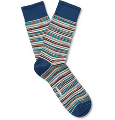 Missoni - Striped Cotton-Blend Socks
