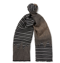 Missoni Dégradé Patterned Wool Scarf