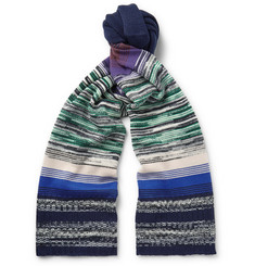 Missoni Striped Wool-Blend Scarf