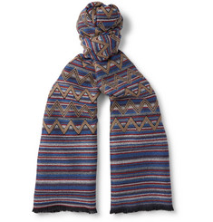 Missoni - Patterned Wool Scarf