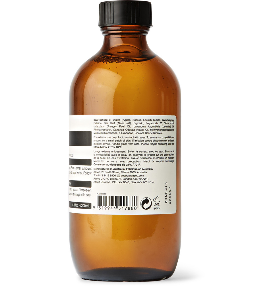 Aesop Amazing Face Cleanser, 200ml