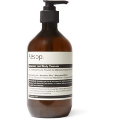 이솝 제라늄 리프 바디 클렌저 Aesop Geranium Leaf Body Cleanser, 500ml,Green