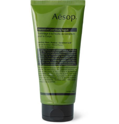 AESOP Geranium Leaf Body Scrub/6.1 Oz.
