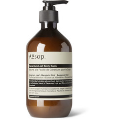 이솝 제라늄 리프 바디 밤 Aesop Geranium Leaf Body Balm, 500ml,Green