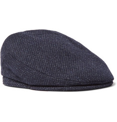 Lock & Co Hatters Mélange Virgin Wool Flat Cap